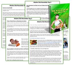 alkaline diet newsletter
